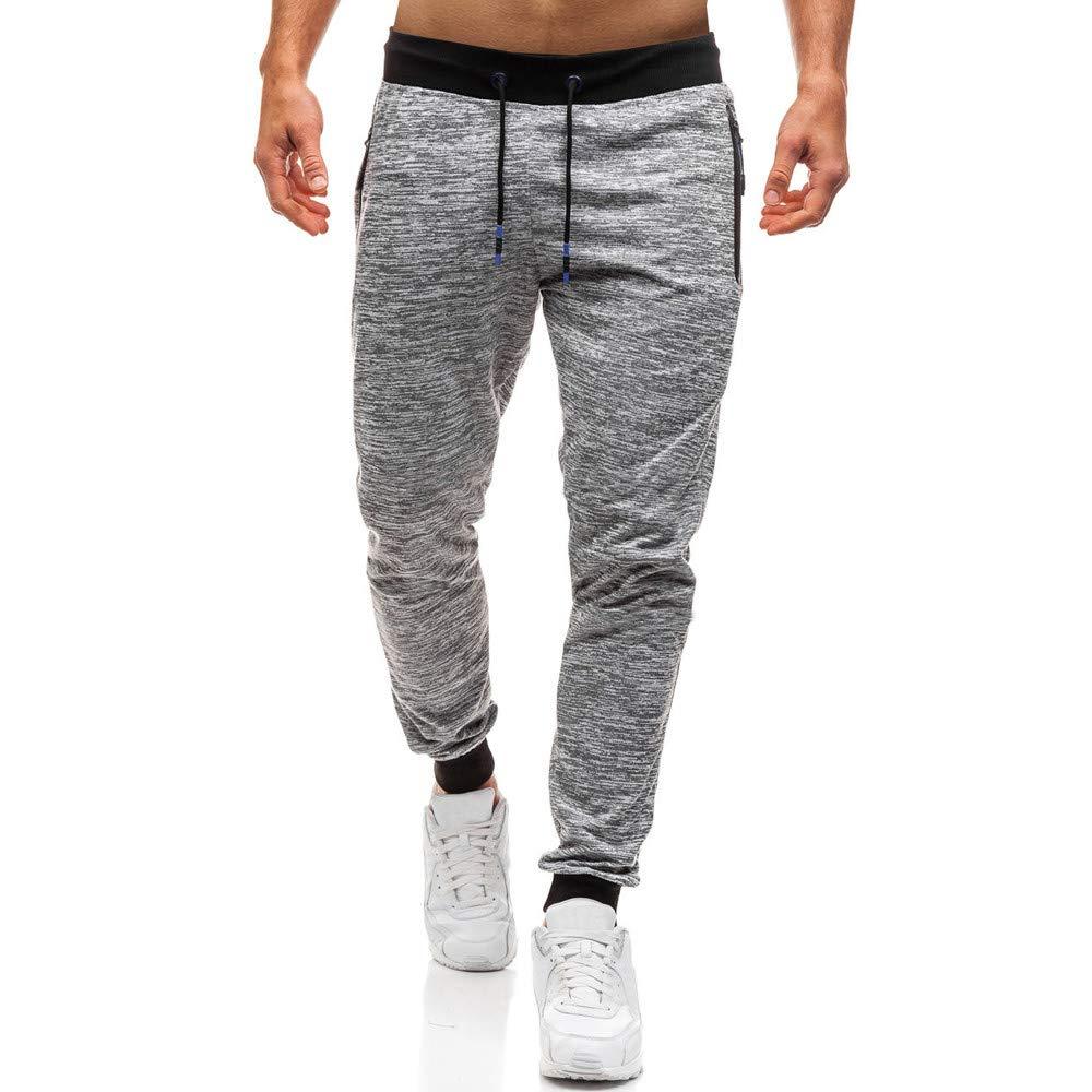 8397397bc41 Amazon.com  Usstore Men s Drawstring Sweatpants Baggy Harem Joggers Pants  Workout Trousers  Clothing
