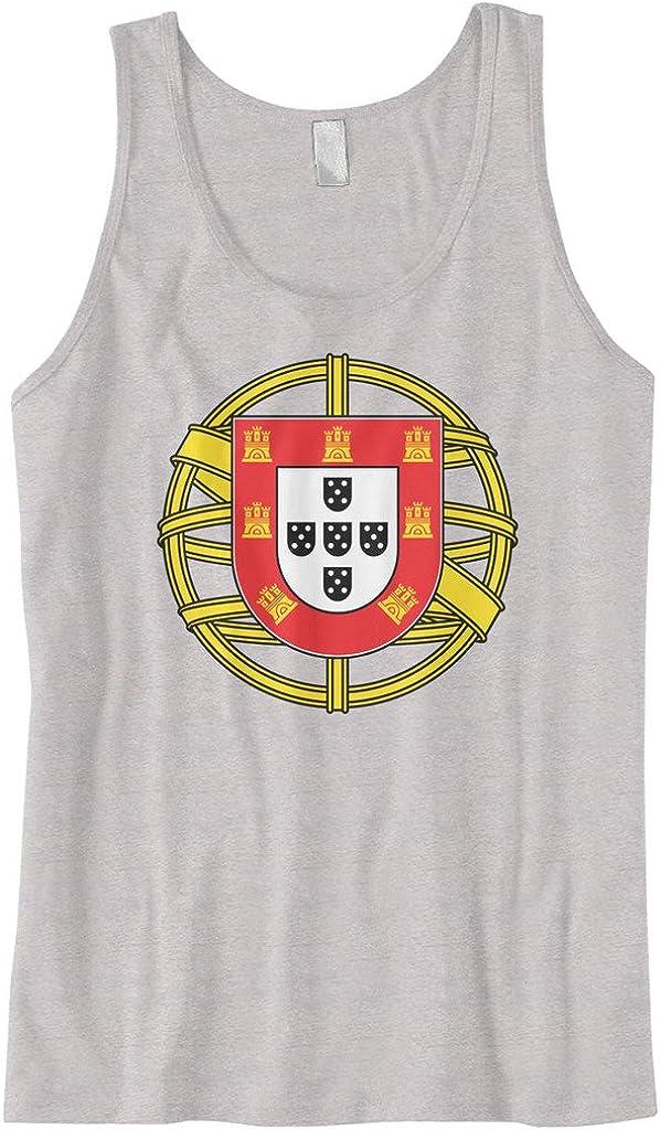 Cybertela Mens Portugal Coat of Arms Tank Top