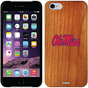 Coveroo iphone 5c Madera Wood Thinshield Case with Mississippi Ole Miss Design