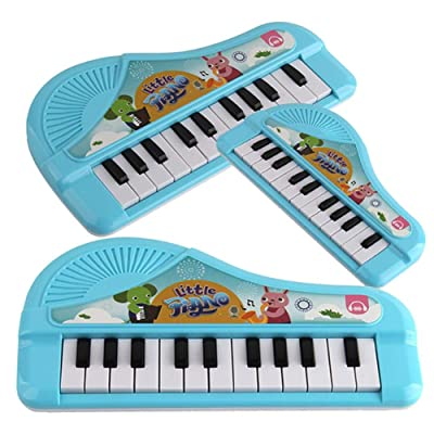 evergremmi Toddler Musical Toy, 13 Keys Toddler Keyboard Piano Music Learning Toys Baby Musical Instrument for Kids Boys and Girls: Arts, Crafts & Sewing