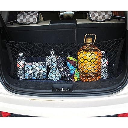 Black VORCOOL Car Cargo Trunk Holder Storage Net Organizer 9030CM