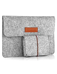 "Macbook Sleeve Case Cover, OURAI 12 Inch Laptop Sleeve Case Bag For 12"" Macbook With Retina Display - Grey"