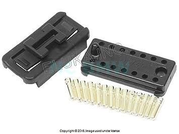 porsche 78 95 engine wiring harness connector 14 pin male pins