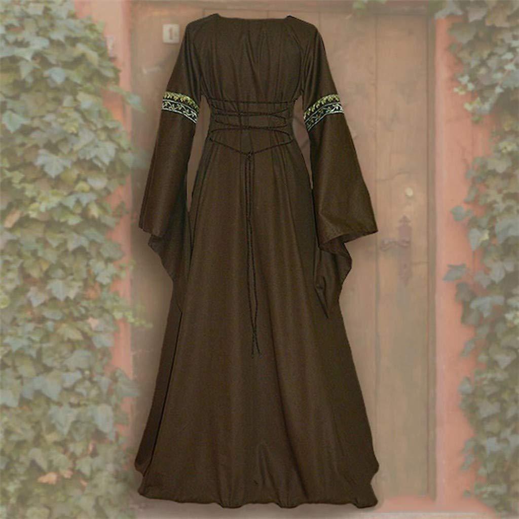 Amazon.com: Kulywon - Vestido para mujer, estilo vintage ...