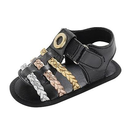 1d216962d7b14 Amazon.com: Cloudro Summer Sandals Soft Sole Baby Boys Girls Shoes ...