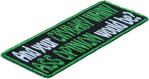 Your Crybaby Whiny Ass Opinion Patch Funny Sayings Patches