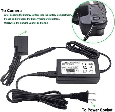Adaptador de alimentación para Canon 750D 760D //// Canon ACK-E18 ACKE 18 E-18 Cargador