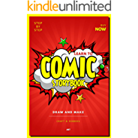 Learn To Step By Step Draw And Make A Comic Storybook (English Edition)