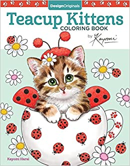 3a6f432ba1e32 Amazon.com: Teacup Kittens Coloring Book (Design Originals) 32 ...