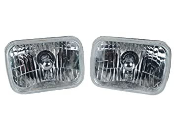 61ZiX2K4lXL._SX355_ amazon com 200 mm rectangle headlight conversion kit with h4 Jeep Cherokee XJ Headlights at edmiracle.co