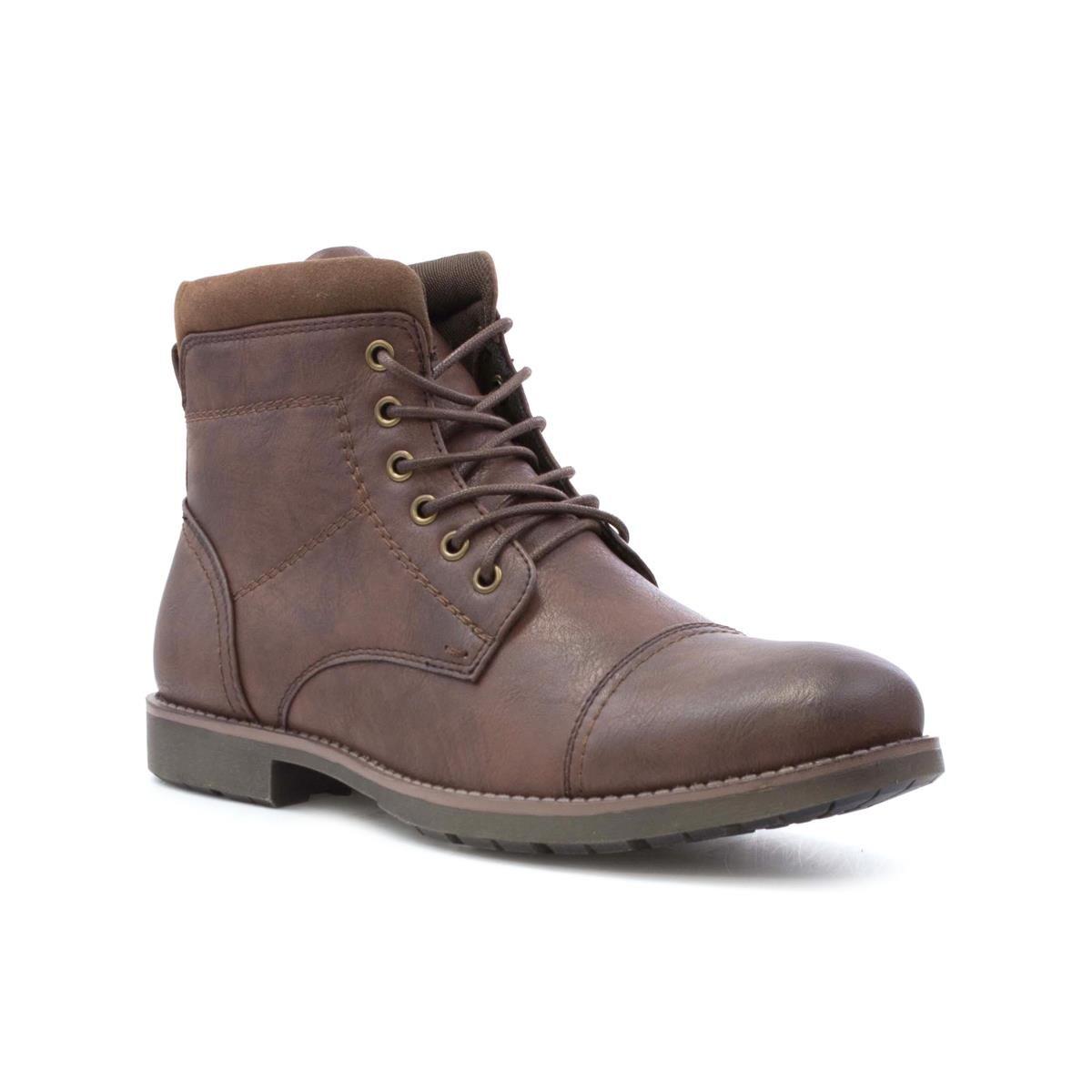Beckett - Zapato acordonado, de cuero, para hombre, en negro Beckett - Talla 8 UK / 42 EU - Negro