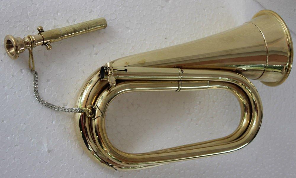 Bugle Shinning Brass Army- Parade Bb Bugle Bb Bugle Sai Musicals Fast Ship