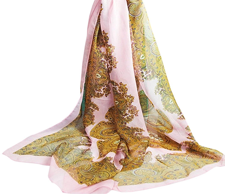 New Fashion Lady Girls Paisley Long Soft Chiffon Scarf Wrap Shawl Stole