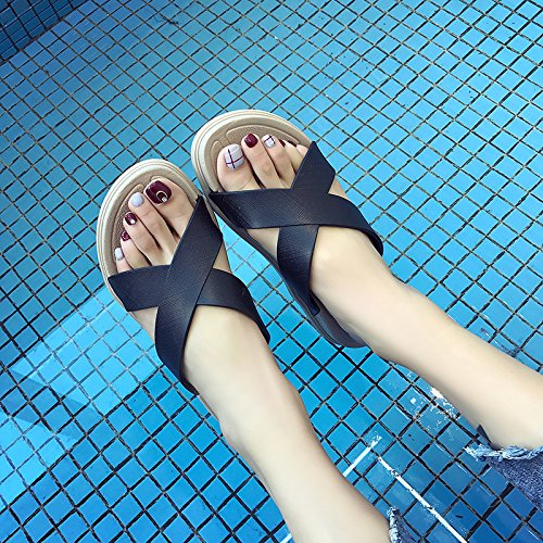 Sandals Comfort White Women'S Students Slippers Seaside Summer Outdoor Wild Cool Beach Fashion Women'S WHLShoes Leisure aSwx47q56