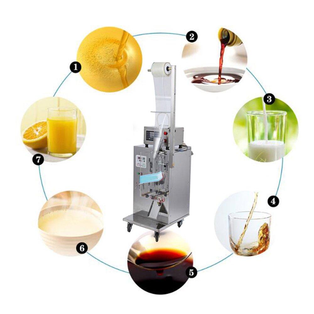 Denshine Automatic Sauce Liquid Filling Packing Machine, Liquid Sealing Machine