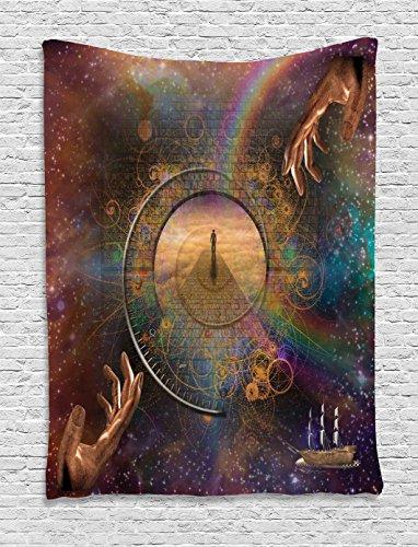 Tapestry Ambesonne Exposure Symbolic Eternity