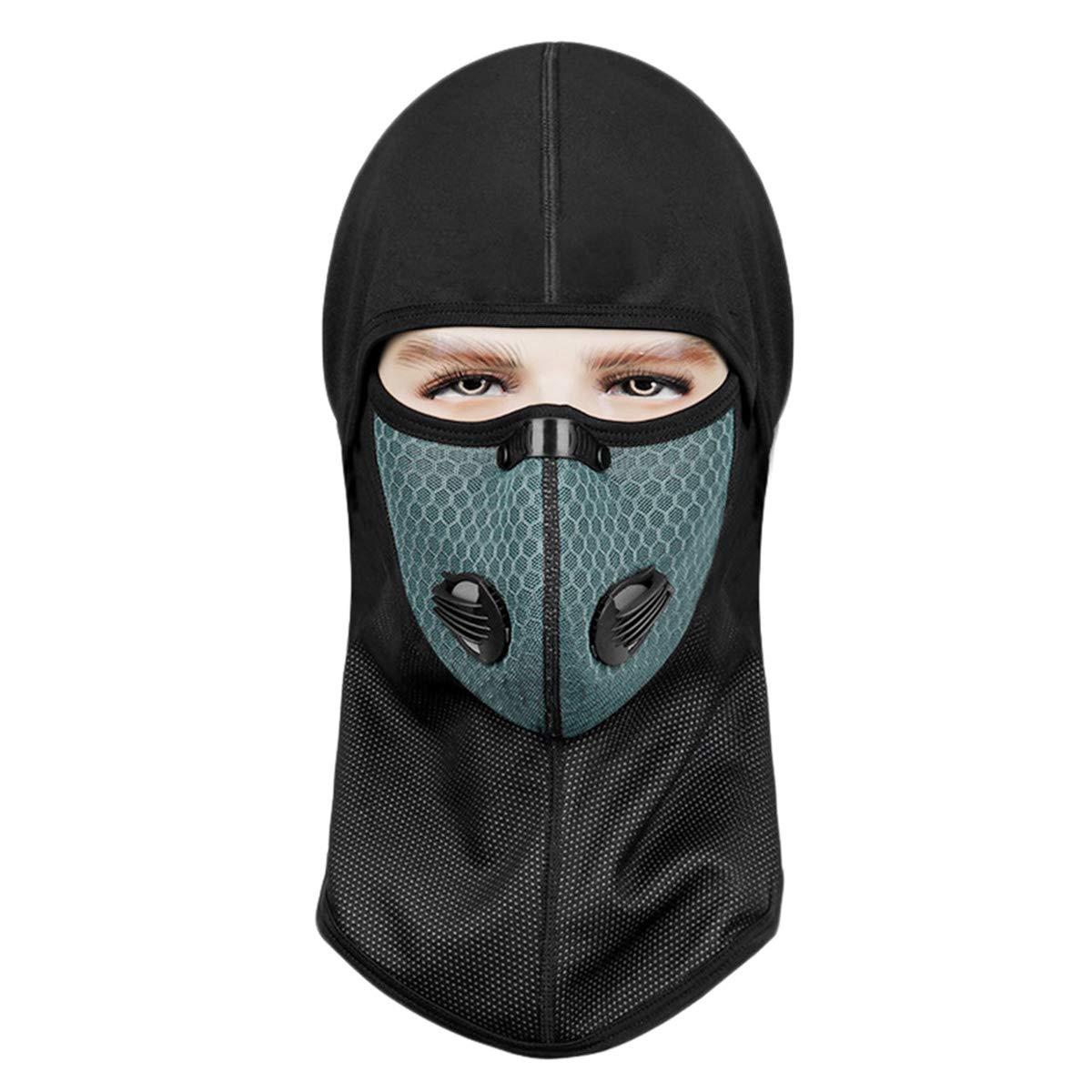 Maschera da sci passamontagna, maschera viso HomeCito per motociclisti - Mantenere caldo | Resistente al vento | Sottocasco elastico traspirante, passamontagna invernale per snowboard, escursionismo e altri sport all'aria aperta, taglia universale per uomo