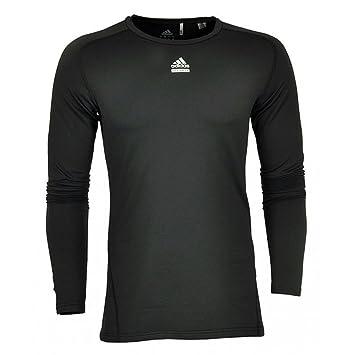 Techfit T Sous Adidas Climawarm À Longues Manches Pull Shirt myvN8nO0w