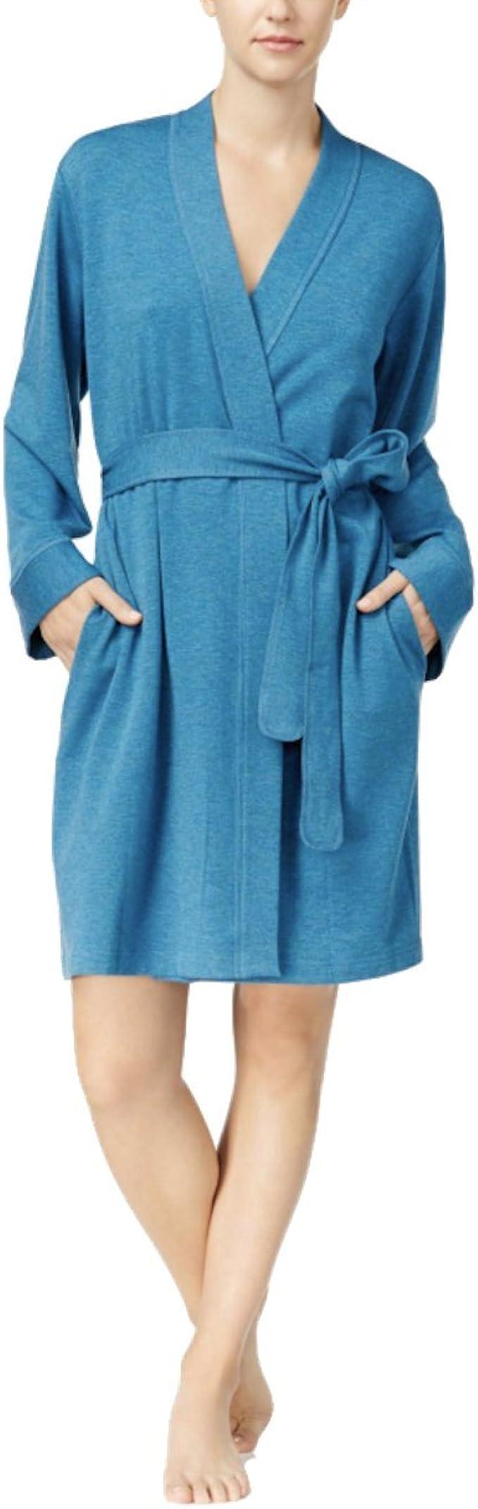Mfasica Men Robe Fleece Turkish Nightgown Home Terry Cloth Pajamas