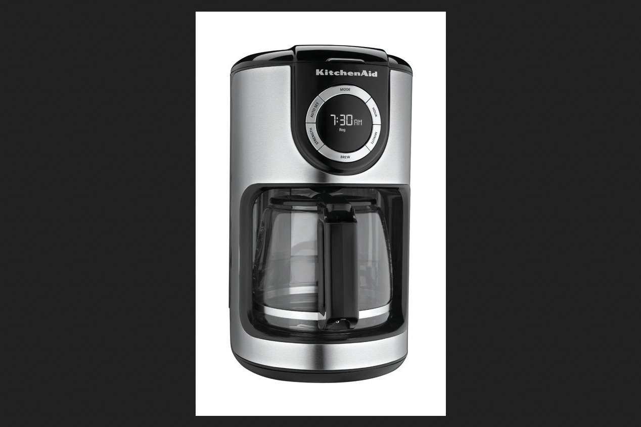 Kitchenaid Coffee Maker Auto Shut-Off, Programmable 12 Cup Permanent 1100 W, 120 V, W by KitchenAid