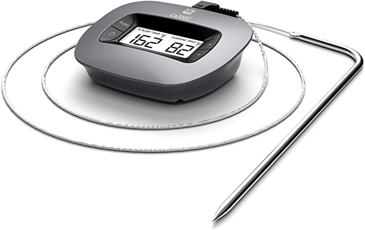 Grillthermometer BBQ Grill Ofen Thermometer Backofenthermometer 02