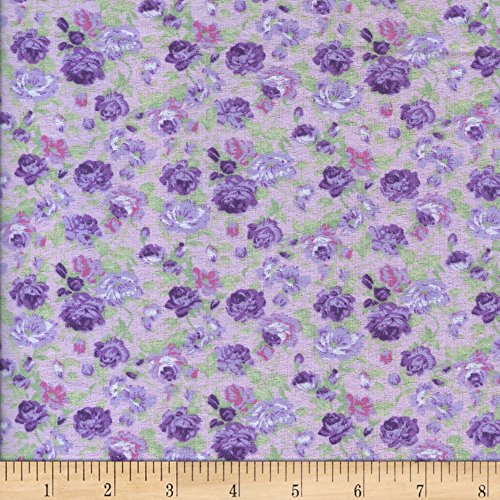 (Newcastle Fabrics Printed Flannel Matias Pink Fabric by the Yard )
