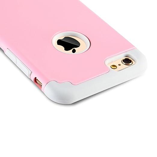 140 opinioni per iPhone 6/6s Cases, Case Cover duplice ibrido per iPhone 6/6s. Cover duro per