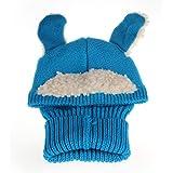 Atdoshop 1PC Winter Baby Kids Girls Boys Warm Woolen Coif Hood Scarf Caps Hats