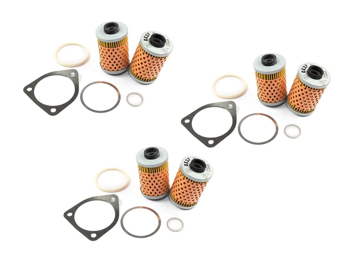 /Ölfilter Set 3 St/ück Mahle OX37// OX37D f/ür BMW