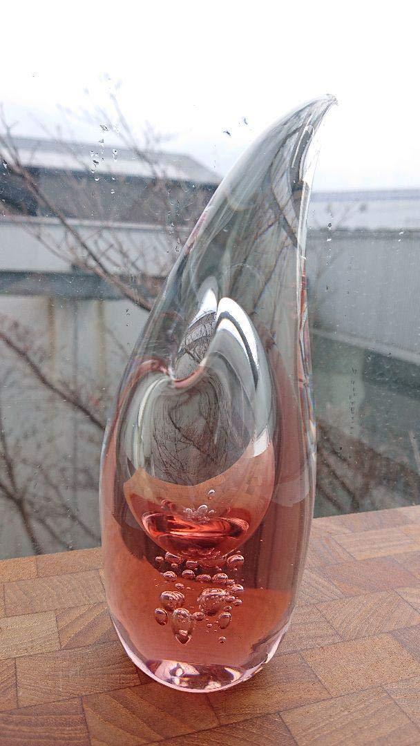 オブジェの様なガラスのフラワーベース花瓶 花瓶 花器 B07R4XHLZM