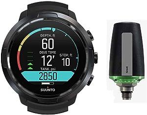 SUUNTO D5 Scuba Diving Wrist Computer with USB Cable & Tank Pods