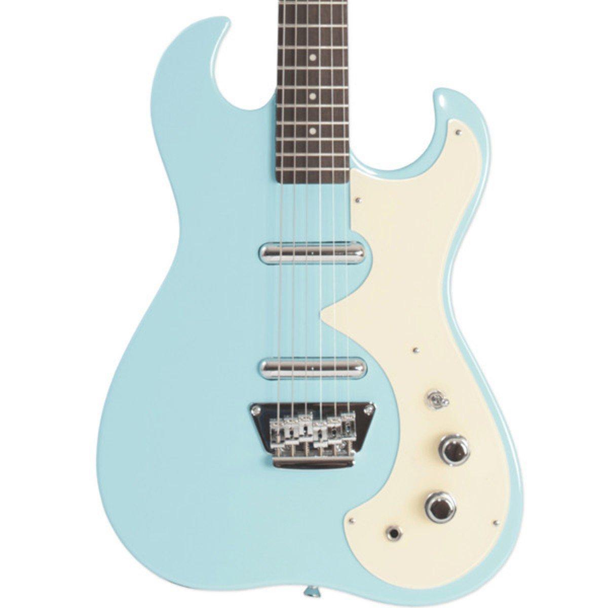 Silvertone 1449 Eléctrica + Pack de Ampli SubZero Tube20R Daphne Blue: Amazon.es: Instrumentos musicales