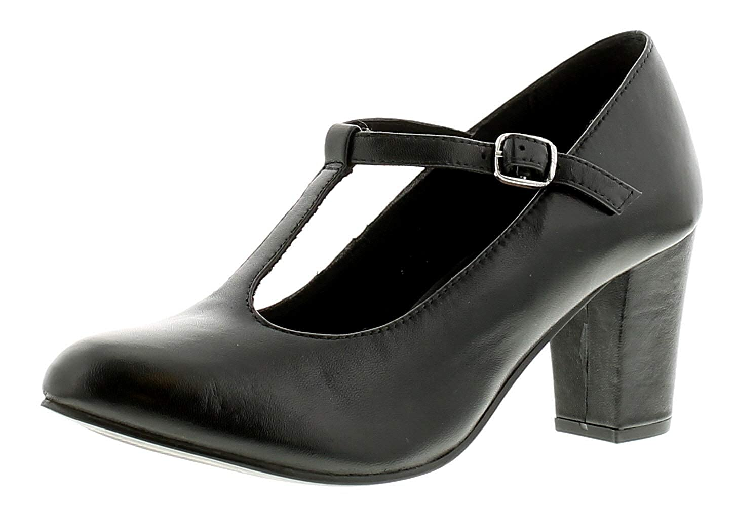 Comfort Plus Womens Black Low Block Ankle Boot-18593 advise to wear in everyday in 2019