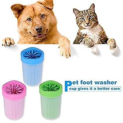 Amazon Com Portable Dog Paw Cleaner Pet Feet Washer Pet Cleaning