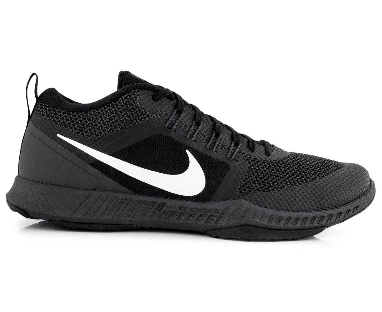 4b4521ffacb8 Galleon - Nike Mens Zoom Domination Cross Training Shoes Black Anthracite  White 917708-001 Size 10