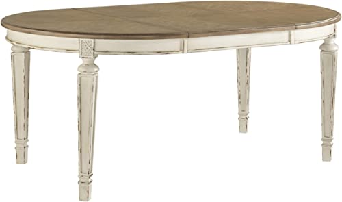 Signature Design by Ashley - Realyn Oval Dining Room Extension Table