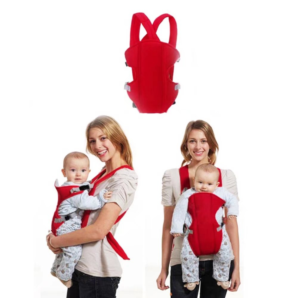 KateDy New Style Baby Ergonomic Carrier Sling Best for Dads Moms,Soft Comfrtable Breathable Mesh Baby Carrier Backpack Perfect for Outdoor,Travel,Hiking,Walking,Shopping and More-1pc,Blue