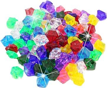 sanguiner Gems de plástico con Granos de Helado de Colores ...