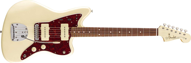 Fender Diapasón Pau Ferro Vintera '60s Jazzmaster - Blanco Olímpico