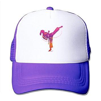 Wfispiy Chica de Karate Unisex de Malla Ajustable Gorras de ...
