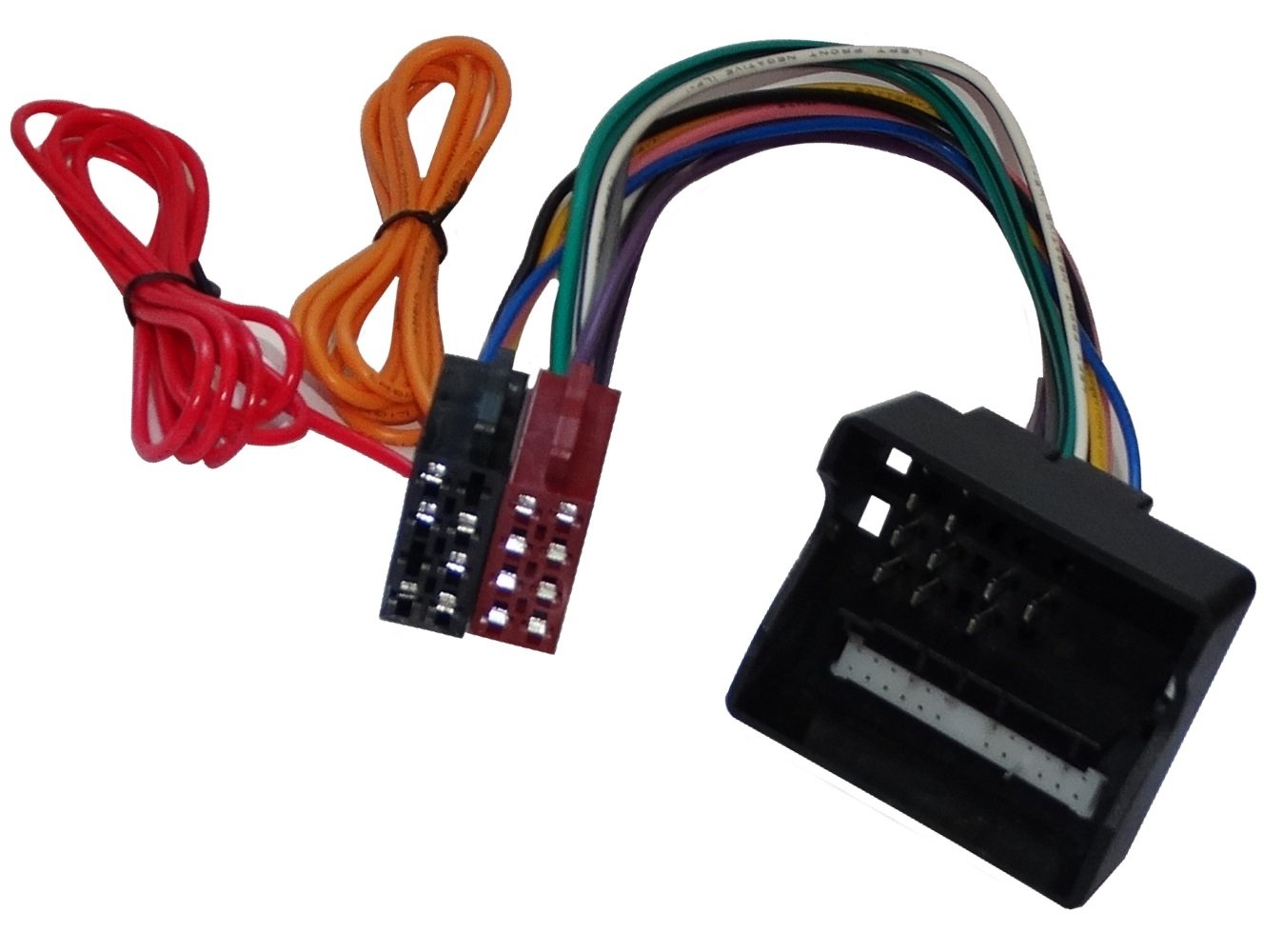Aerzetix - Adattatore cavo con spina per autoradio ISO per veicoli . SK2-C11158-R203