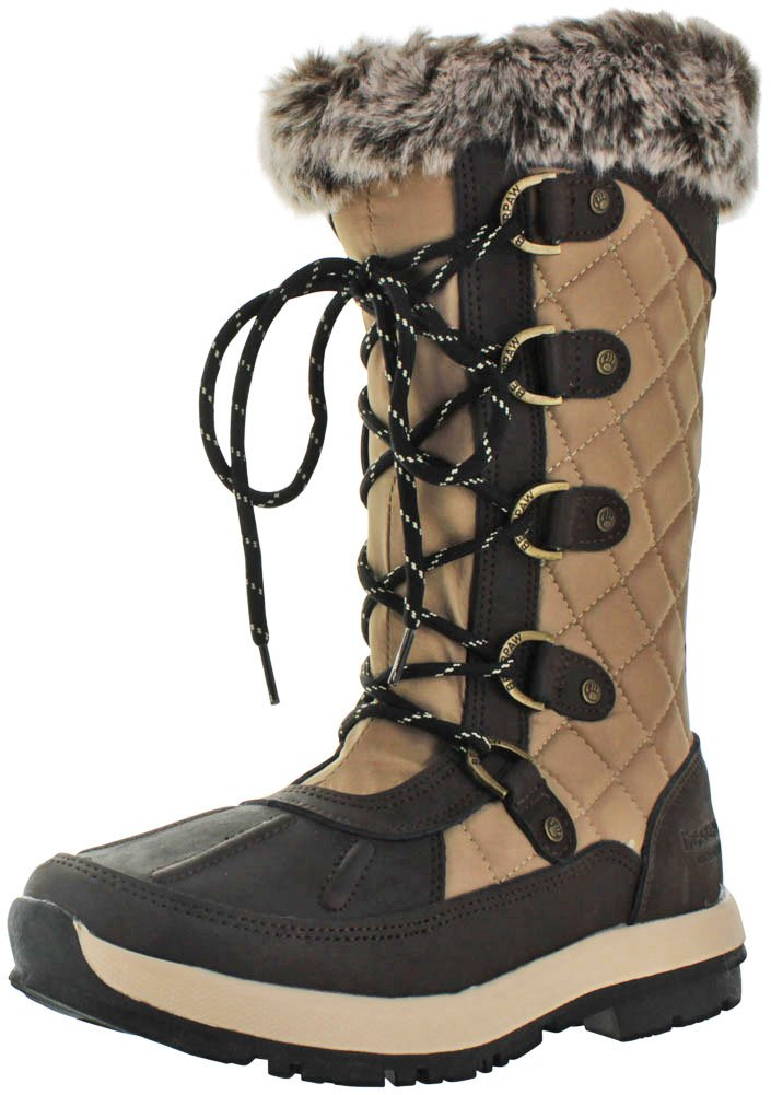 BEARPAW Quinevere Tall Waterproof Boot for Women B01DK4NO4Q 11 B(M) US|Chocolate