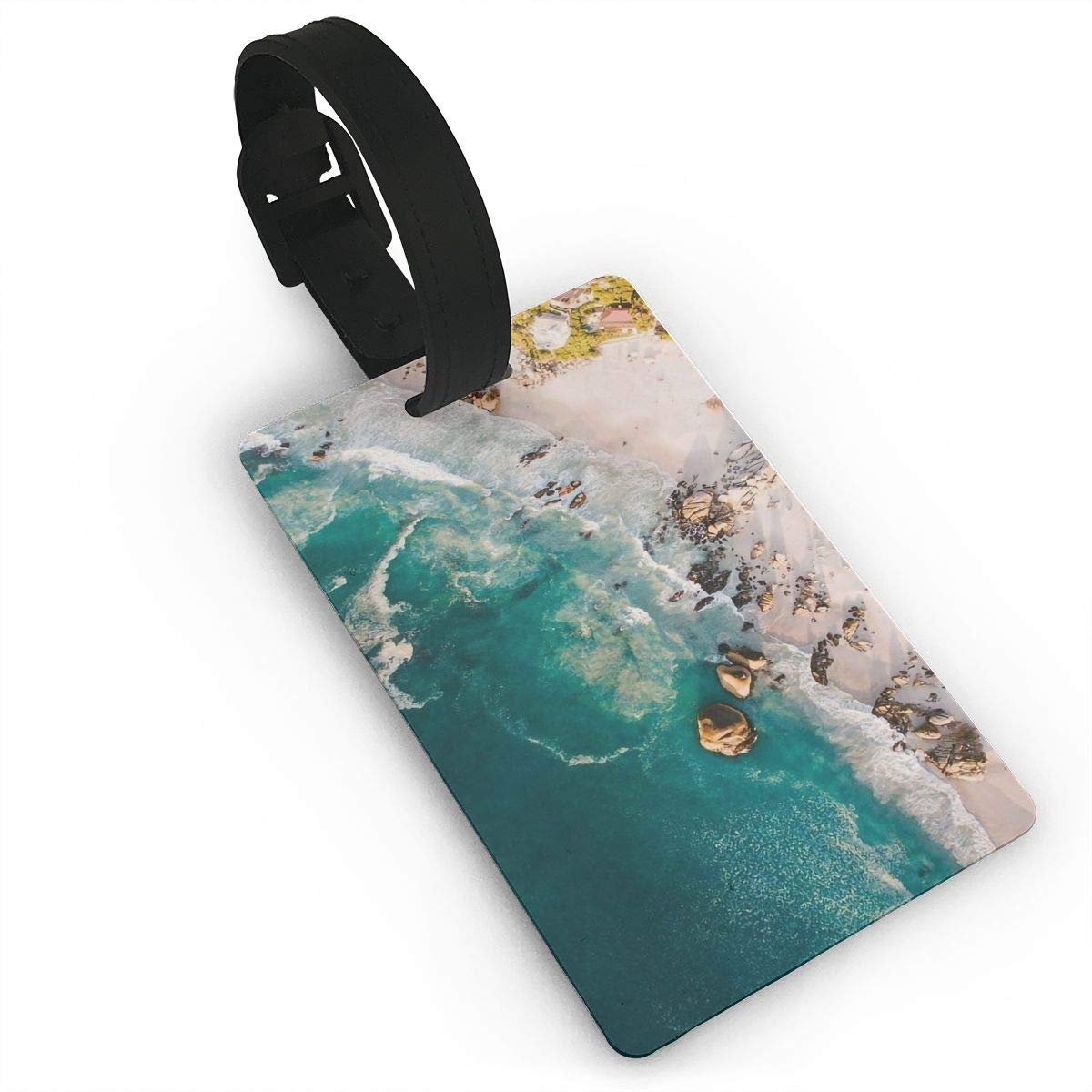 Beaches Baggage Tag For Travel Tags Accessories 2 Pack Luggage Tags