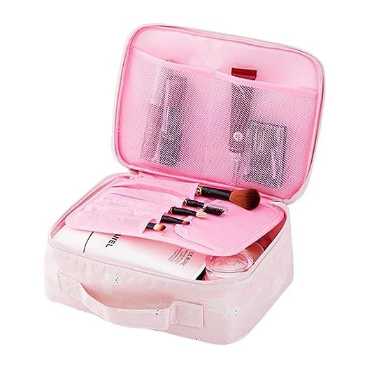 a2f156c1a987 Amazon.com | Yiuswoy Travel Toiletry Bag Printed Portable Makeup Bag ...