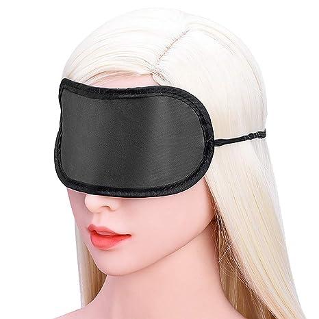 POLP Cuero para Adultos Sexo Esclavo Bondage Adulto Juguetes eroticos Juguetes Adultos Juegos eroticos para Parejas Máscara de Ojo 3D Tentación Negra Juego ...