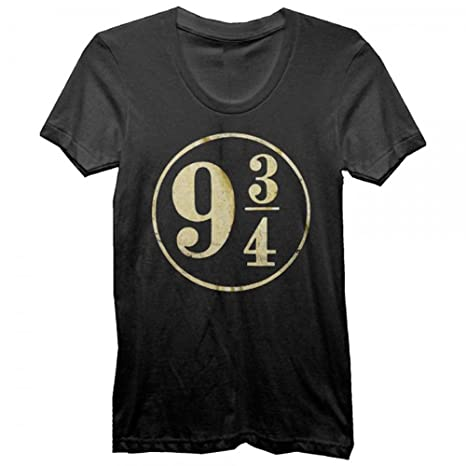 Harry Potter 9 3/4 Foil Juniors T-shirt