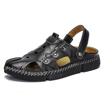 Mode Évider Hommes Melodycp La À On Style Sandales Slip Pour Sandale byvYfg76