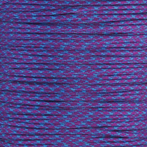 Paracord Planet 550 Cord Type III 7 Strand Paracord 1000 Foot Spool - Chill