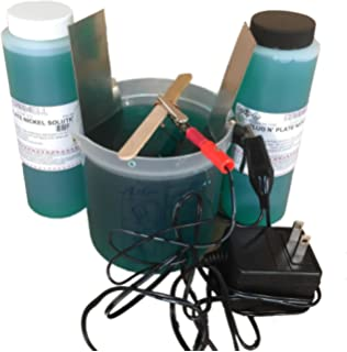 Amazon electroless nickel plating kit automotive caswell science plating kit nickel plating solutioingenieria Gallery
