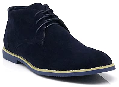 Mens Men Wallace Ankle Chukka Desert Ankle Oxfords Boots Lace up Shoes 7 Colors Runs Big Dak Coupon Code Size 46